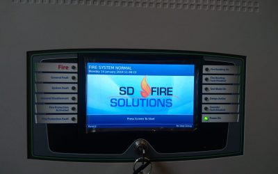New Install of Fire System Ludgate Hill, London